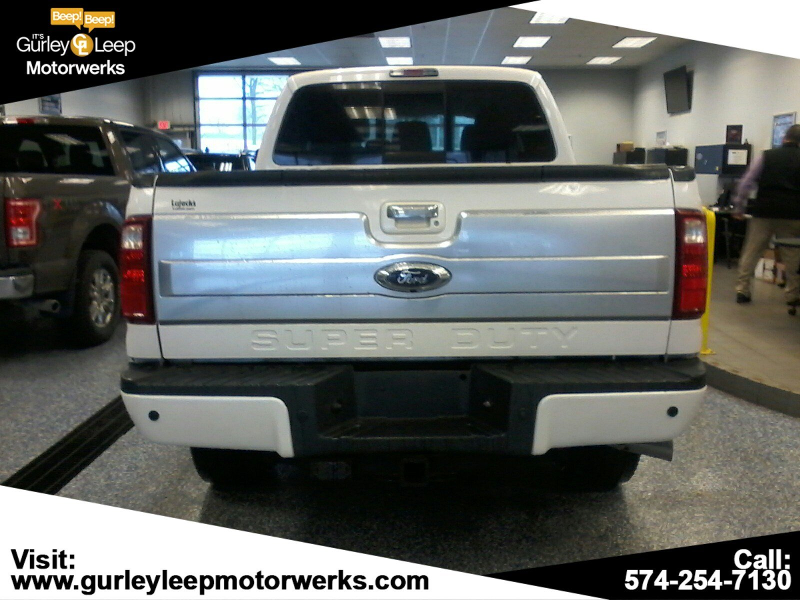 Pre-Owned 2014 Ford Super Duty F-250 SRW Platinum