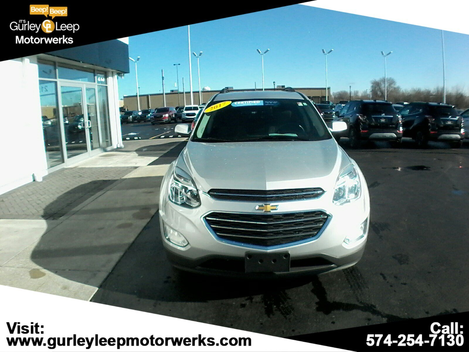 Pre-Owned 2017 Chevrolet Equinox LT