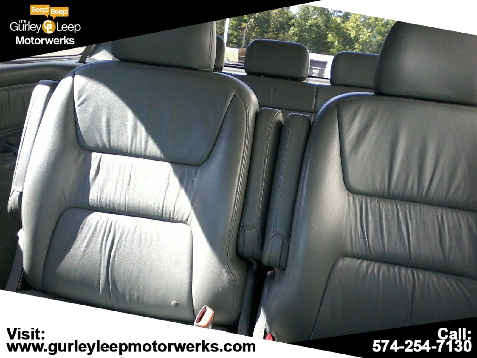 Pre-Owned 2002 Honda Odyssey EX-L w/DVD/Leather