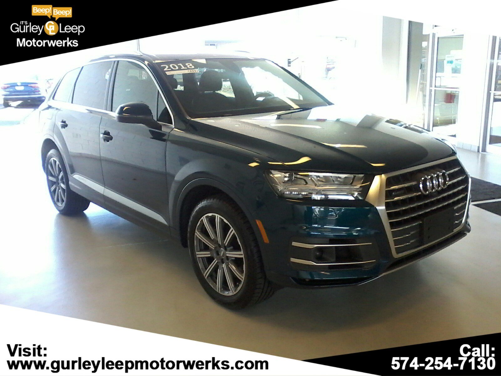 Certified Pre-Owned 2018 Audi Q7 Premium Plus