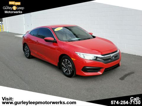 Pre-Owned 2017 Honda Civic Coupe LX