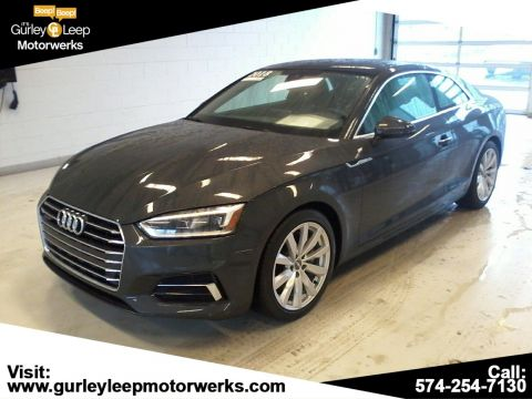 Certified Pre-Owned 2018 Audi A5 Coupe Premium Plus